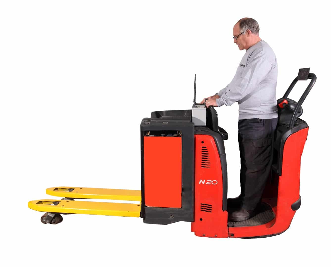 Ept Weighing Electric Pallet Truck Logiweigh