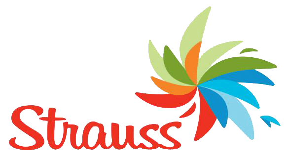strauss logo - a logiweigh customer